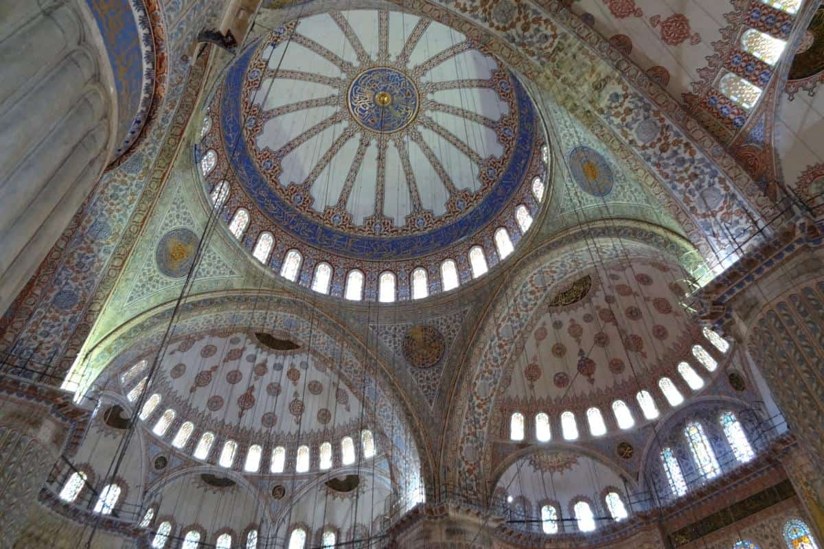 Gebetsraum der Blauen Moschee