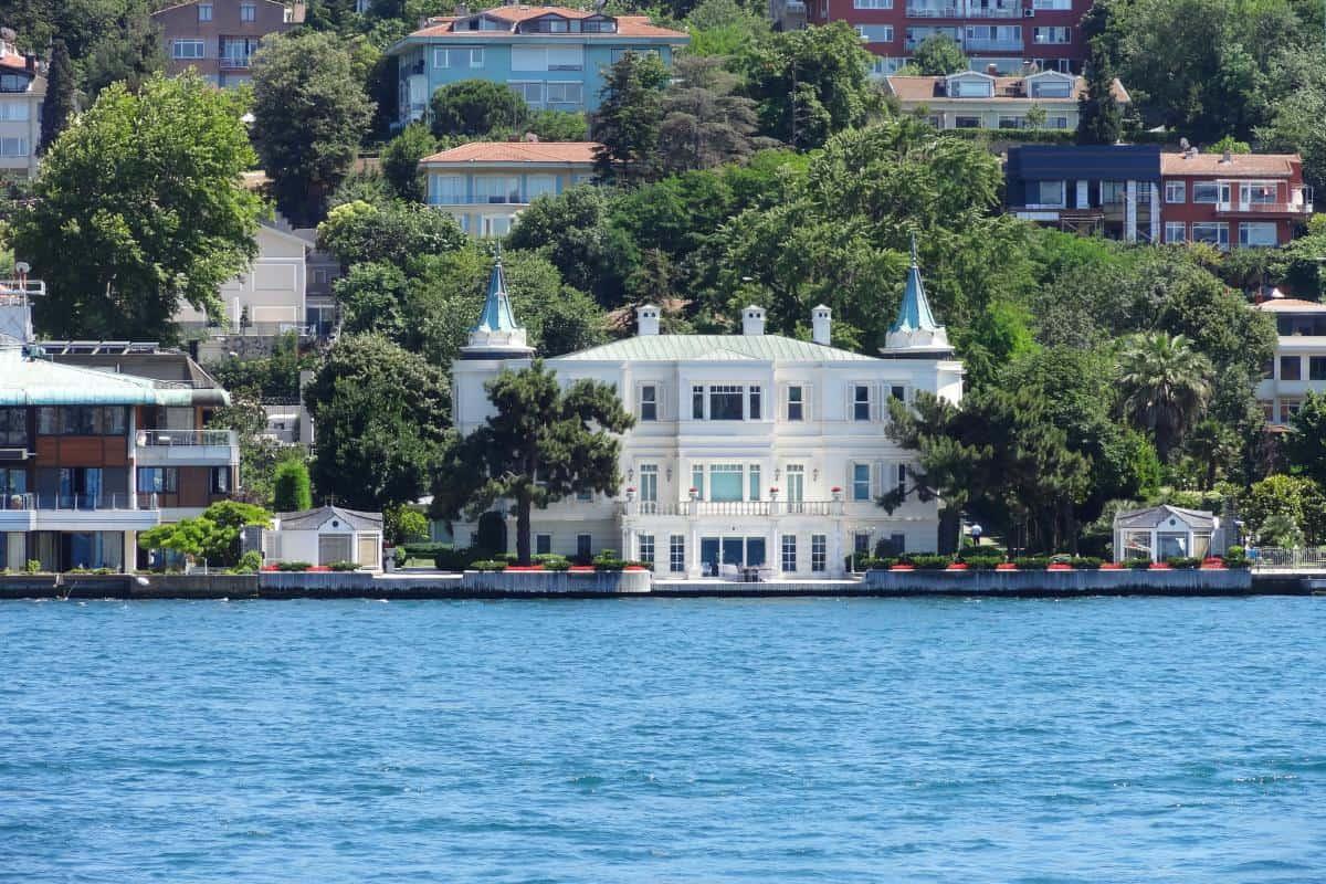 Sommerhäuser am Bosporus in Istanbul