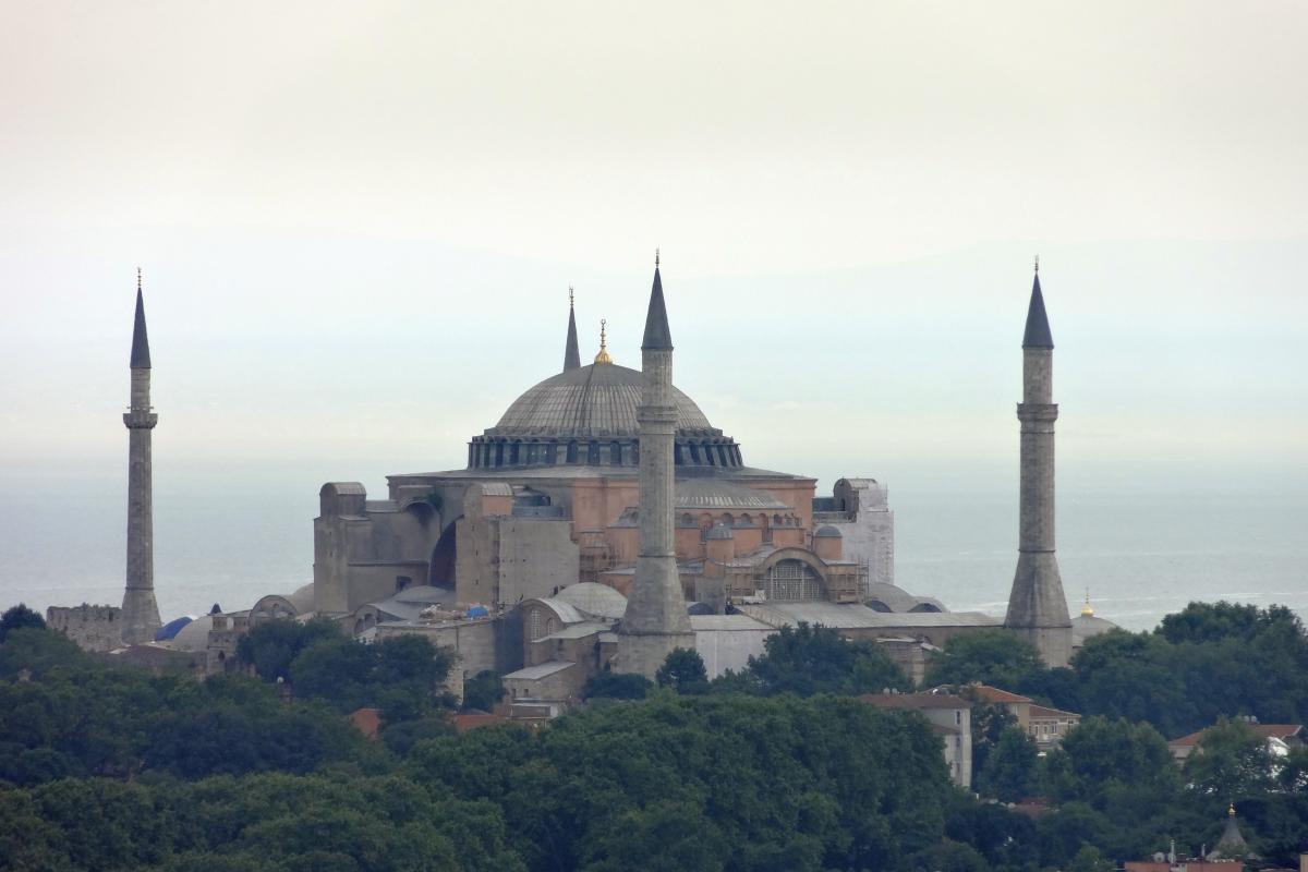 Hagia Sophia vom Galataturm