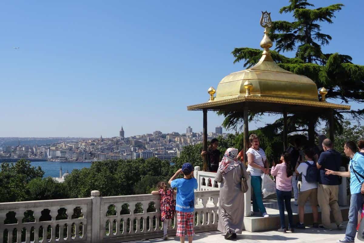 Aussicht vom Topkapı-Palast