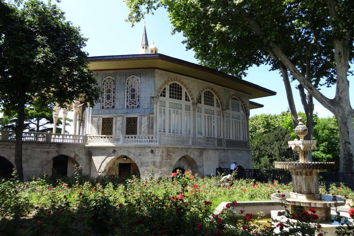 Topkapı-Palast Nebengebäude