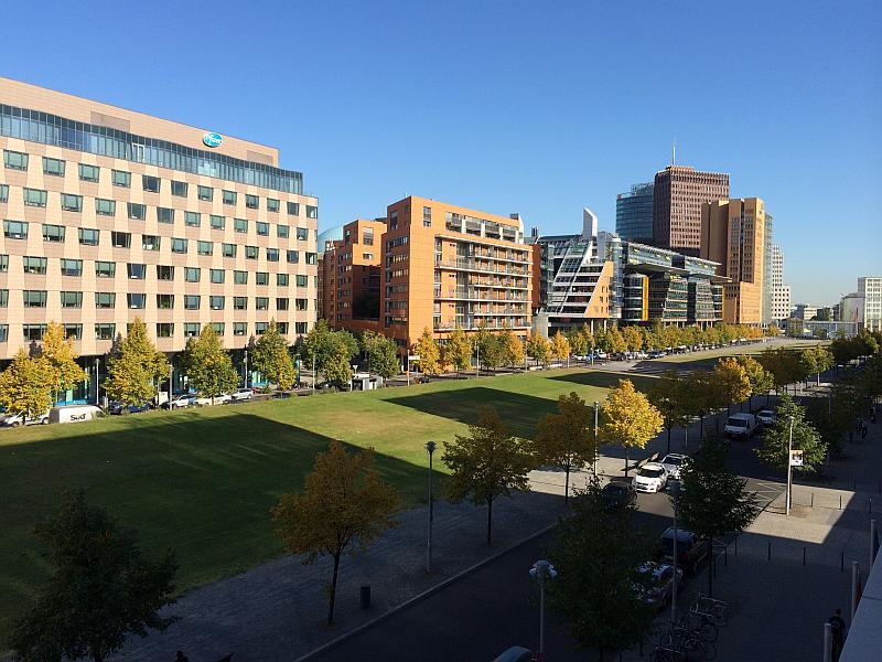 Berlin - Blick aus dem Hotel