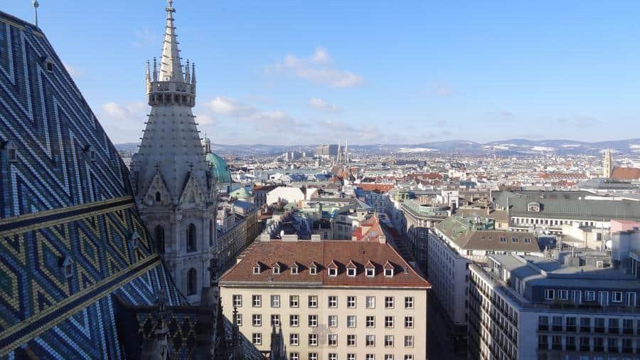 Wien - Aussicht vom Stephansdom