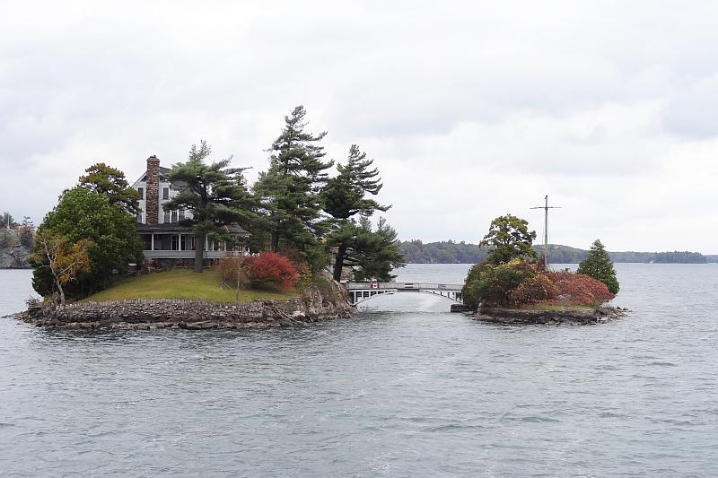 Zavikon Island Bridge - Thousand Islands