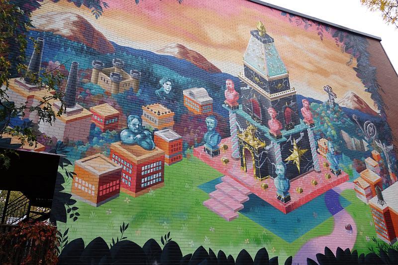Street Art im Plateau Mont-Royal, Montreal