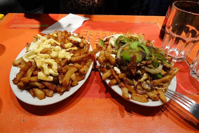 Poutine im Restaurant La Banquise, Montreal