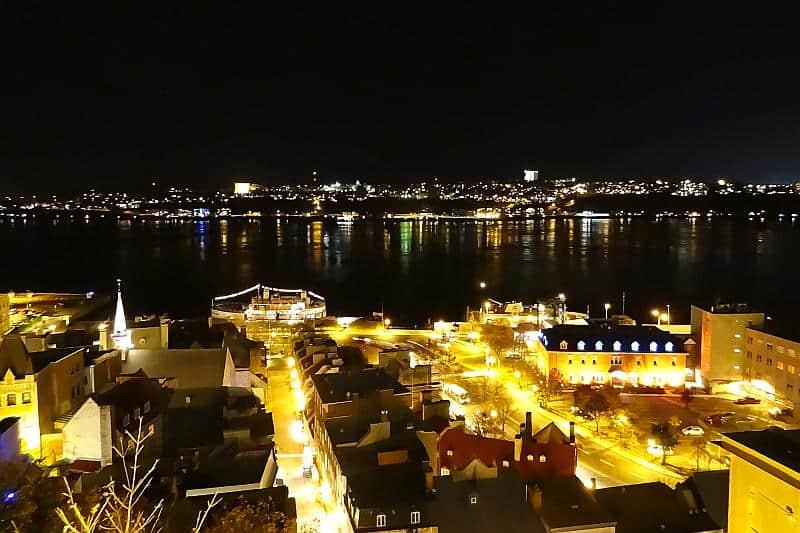 Blick auf die Unterstadt, Québec