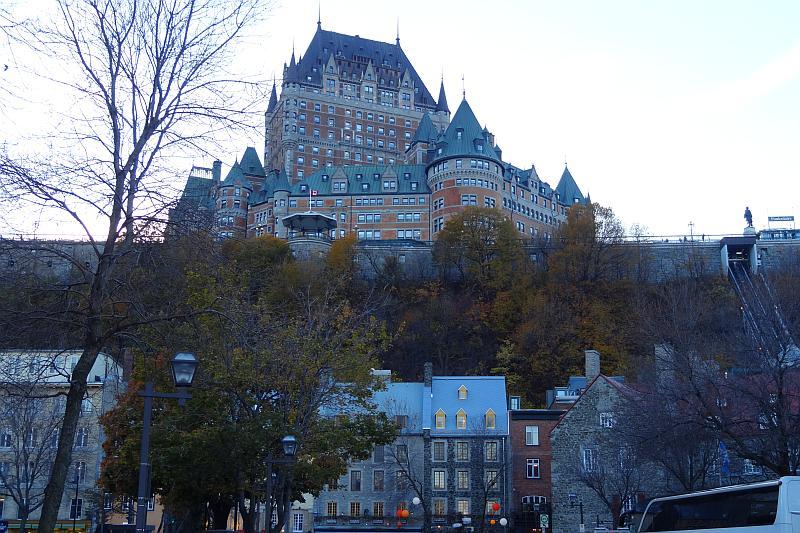 Blick aufs Château Frontenac, Québec