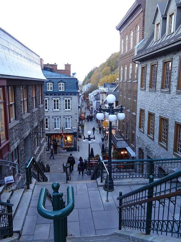 Halsbrechertreppe, Québec