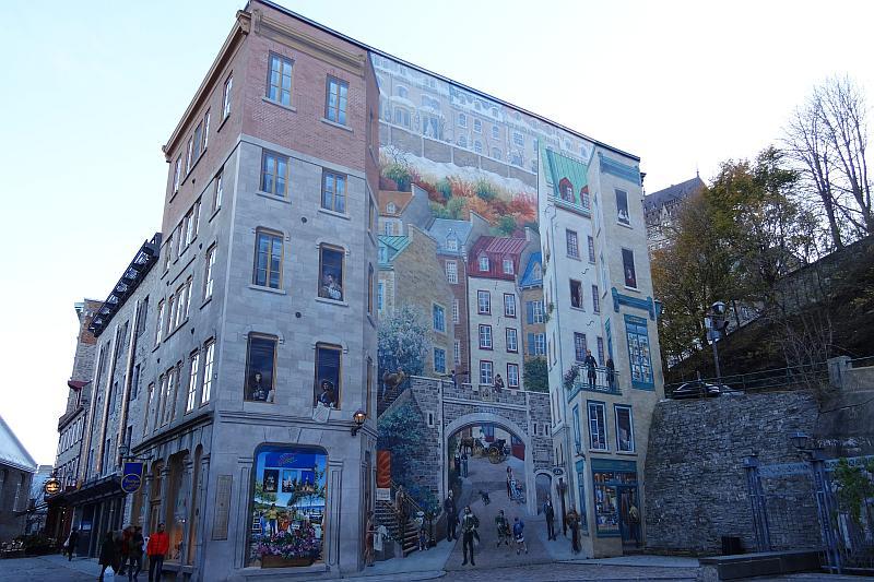 Fresque des Québécois, Québec
