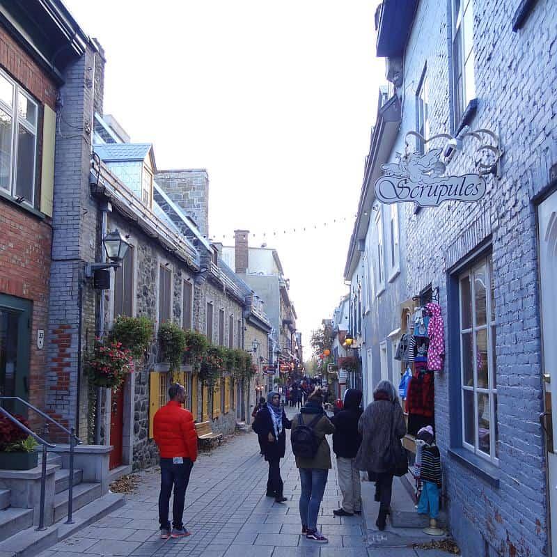 Häuser in der Unterstadt, Québec