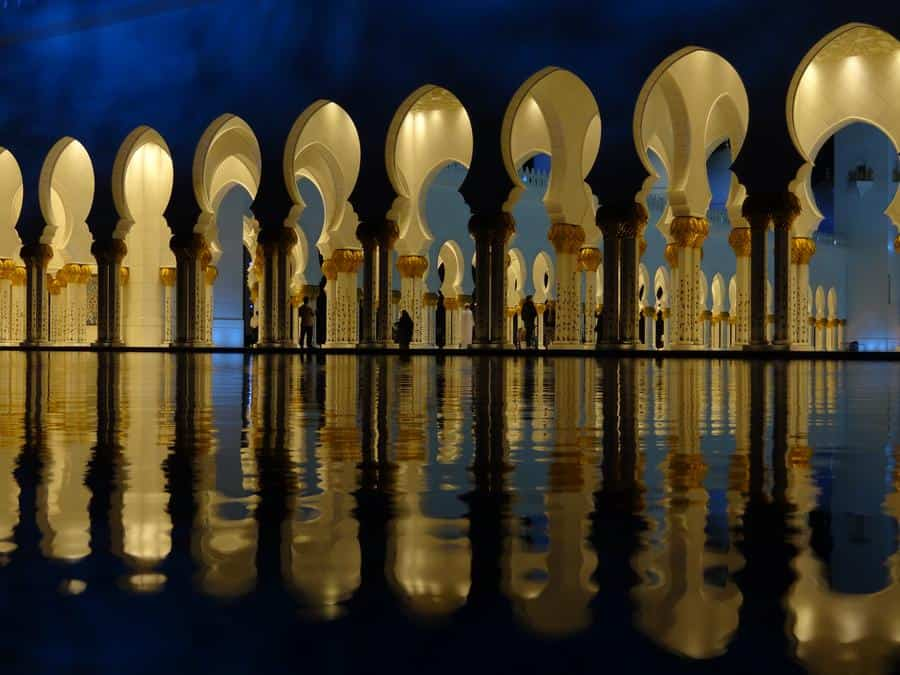 Abu Dhabi - Sheik-Zayed-Moschee