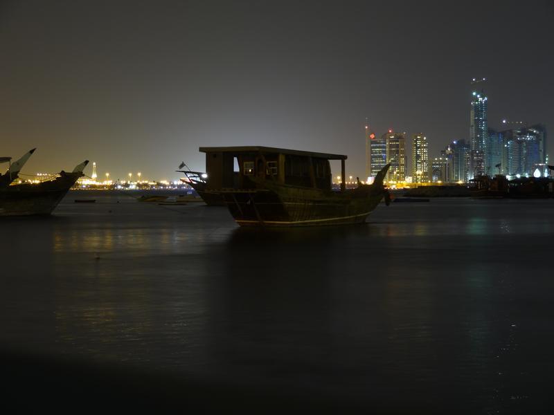 Doha - Dhow vor Skyline