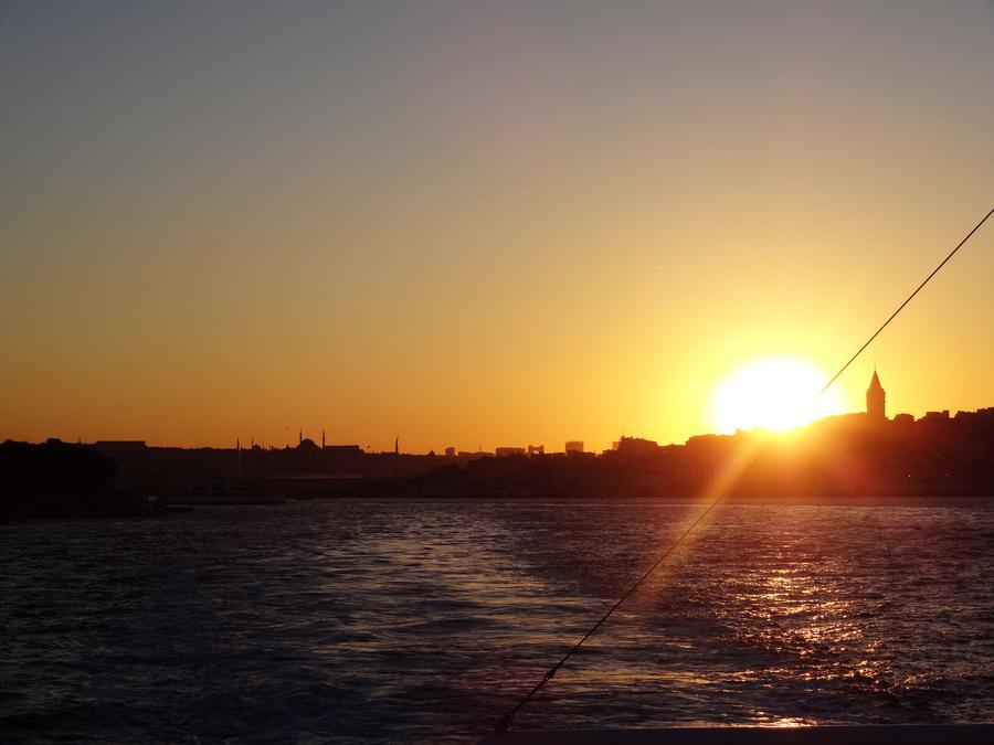 Istanbul - Sonnenuntergang