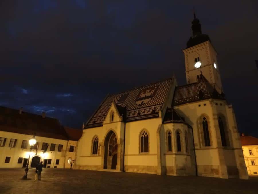 Zagreb - St.-Markus-Kirche