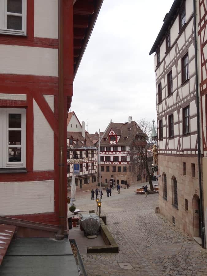 Nürnberg - Blick aufs Albrecht-Dürer-Haus