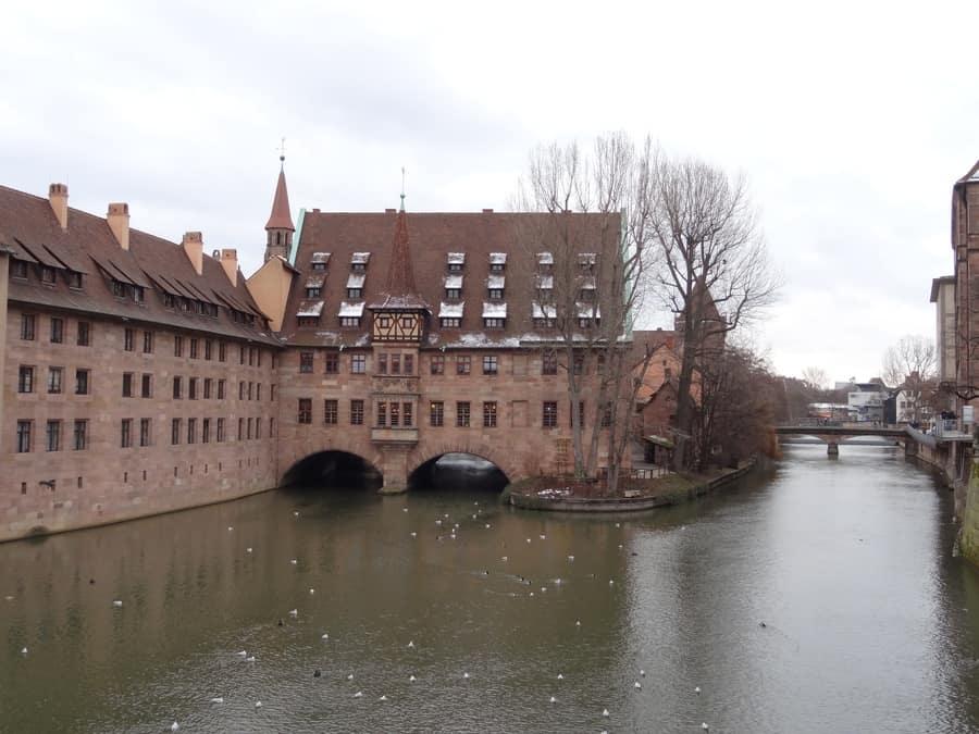Nürnberg - Museumsbrücke