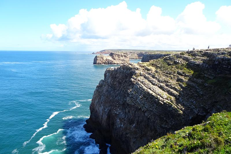 Cabo de São Vicente, Westliche Algarve