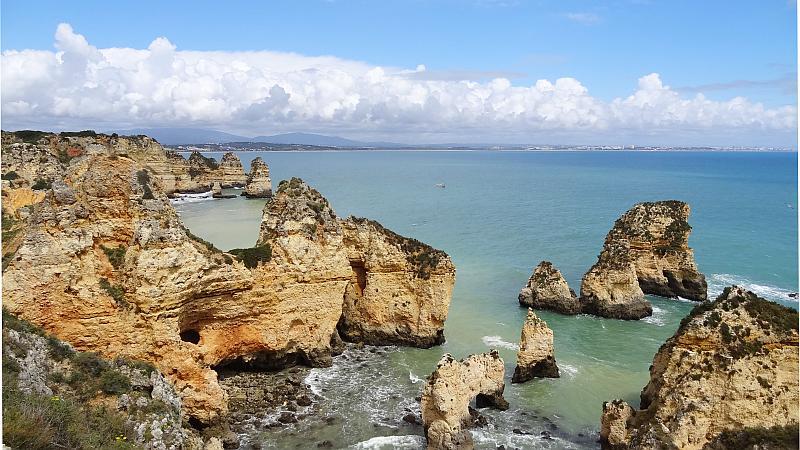Felsnadeln an der Ponta da Piedade, Westliche Algarve