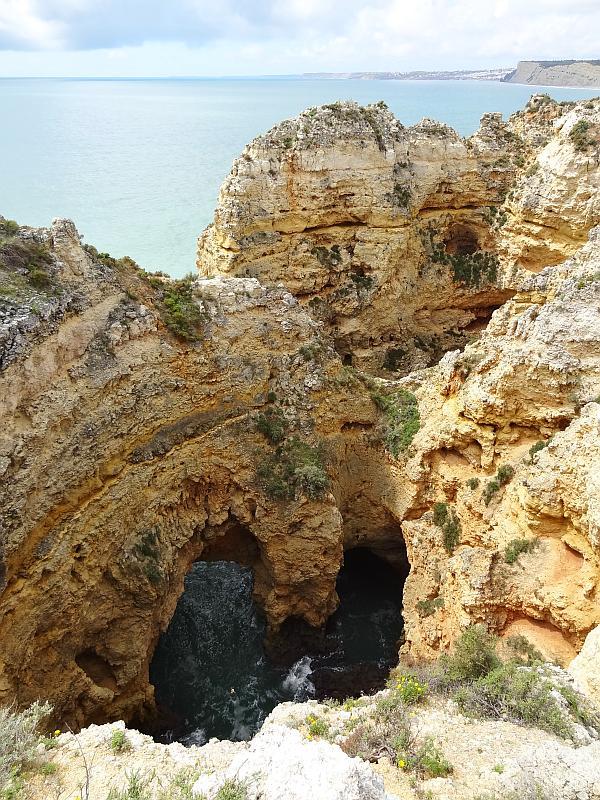 Höhlen in der Ponta da Piedade, Westliche Algarve