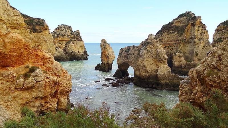 Ponta da Piedade, Westliche Algarve