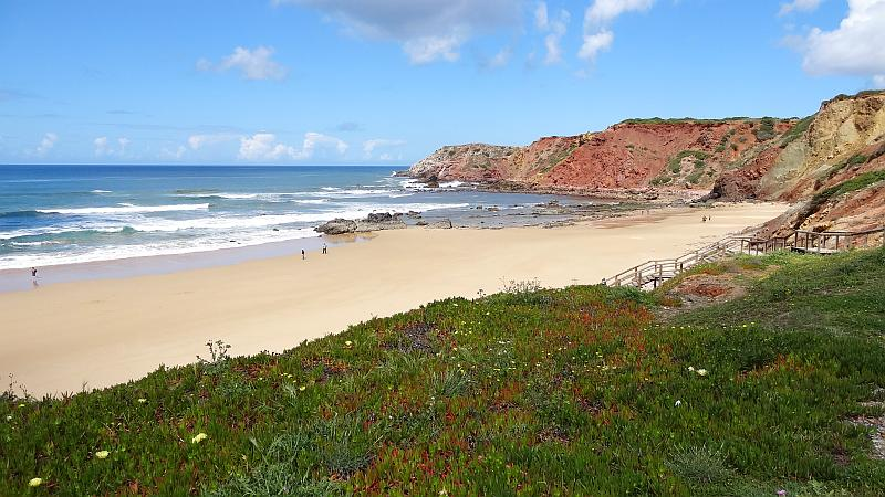 Praia do Amado, Westliche Algarve
