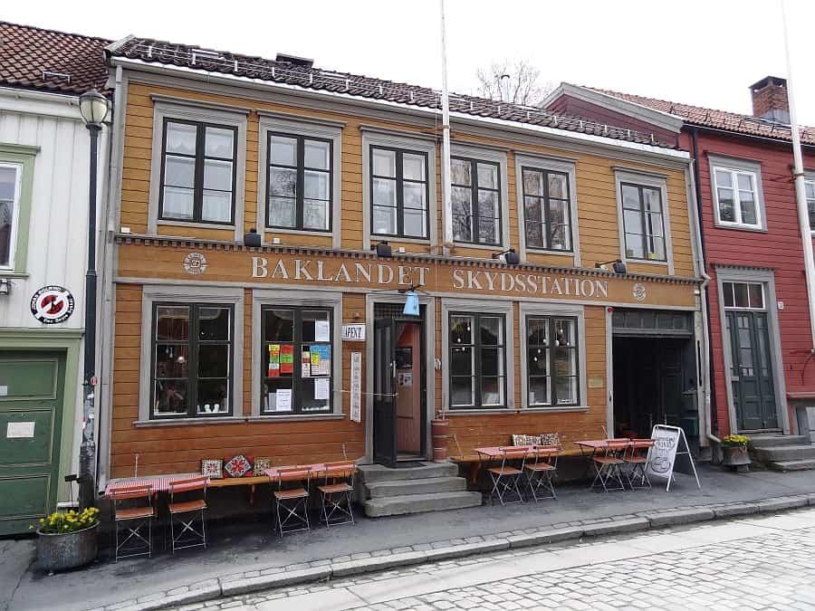 Trondheim - Baklandet Skydsstation