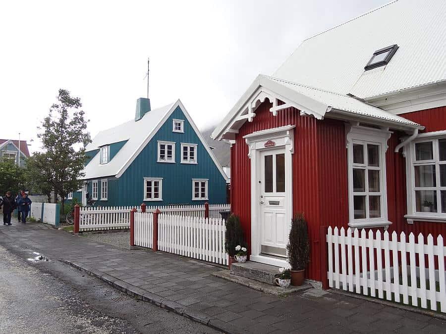 Ísafjörður - Zentrum