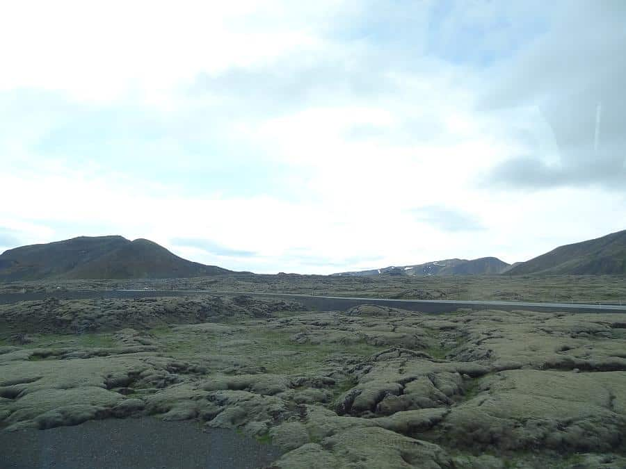 Island - Lavafeld