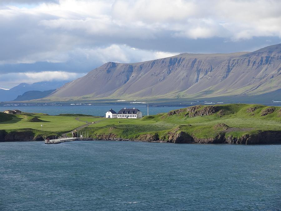 Reykjavik - Hafenausfahrt