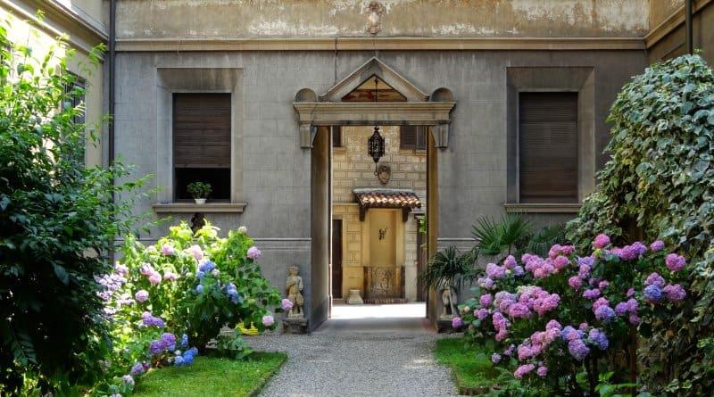 Mailand - Innenhof
