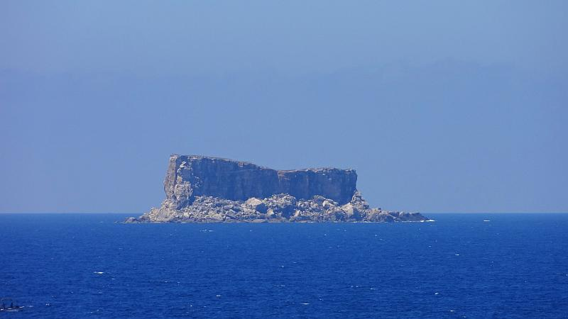Blick auf Filfla, Malta