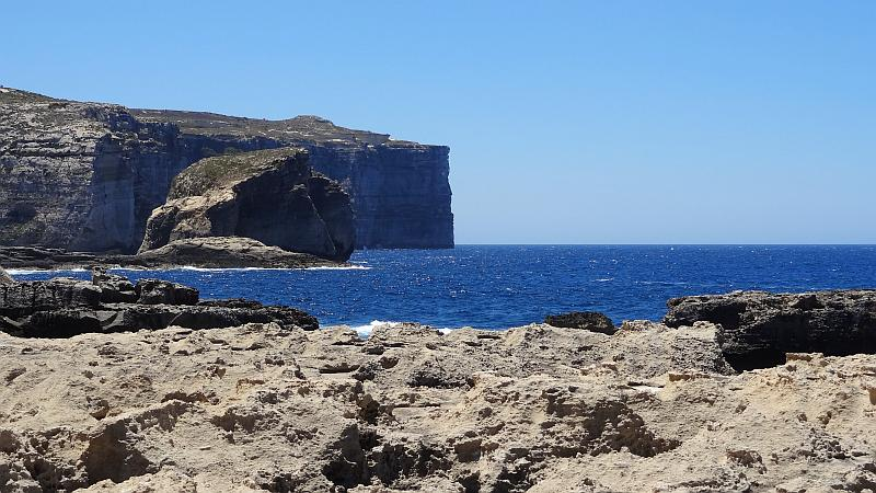 Fungus Rock, Gozo, Malta