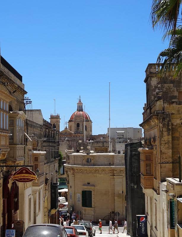 Gassen in Victoria, Malta