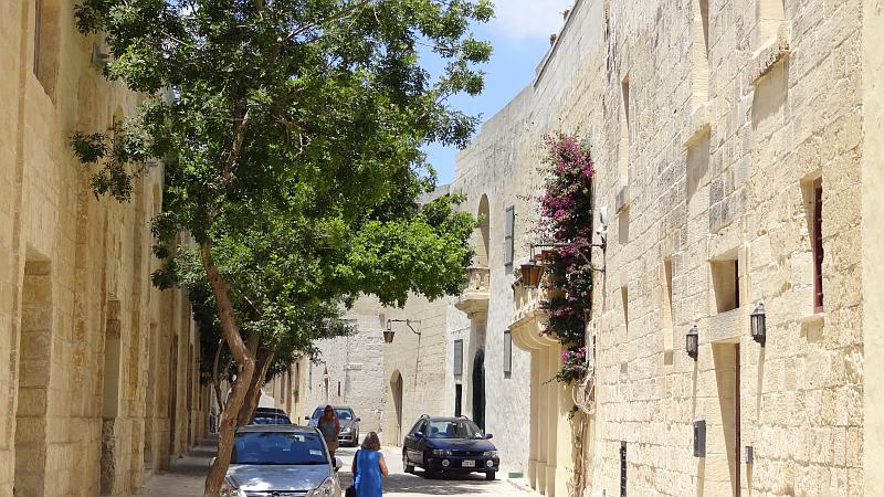Gasse in Mdina, Malta