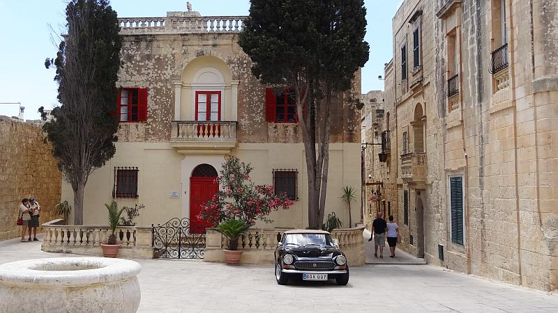 Platz in Mdina, Malta