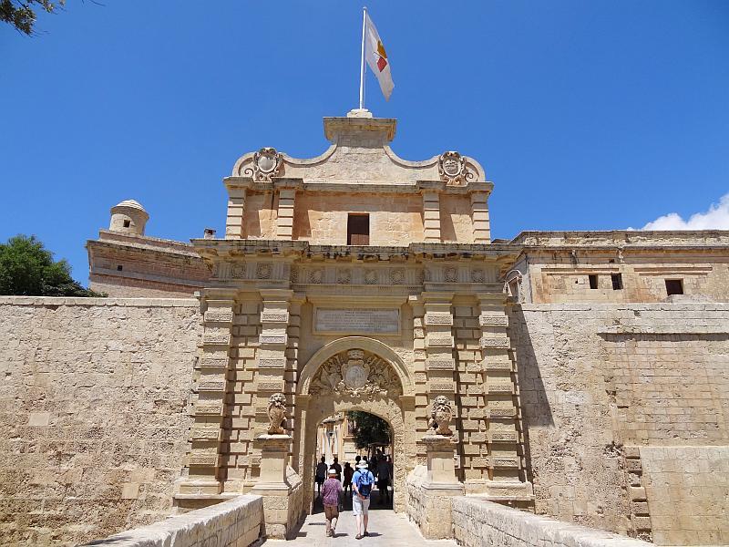 Stadttor von Mdina, Malta