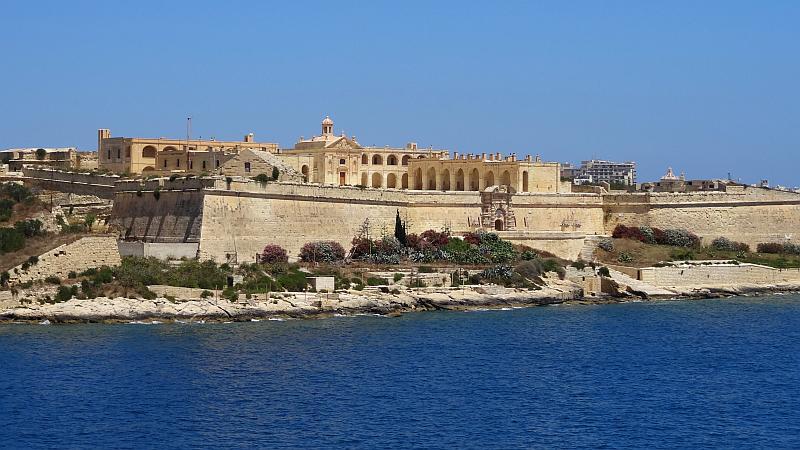 Festung in Valletta, Malta