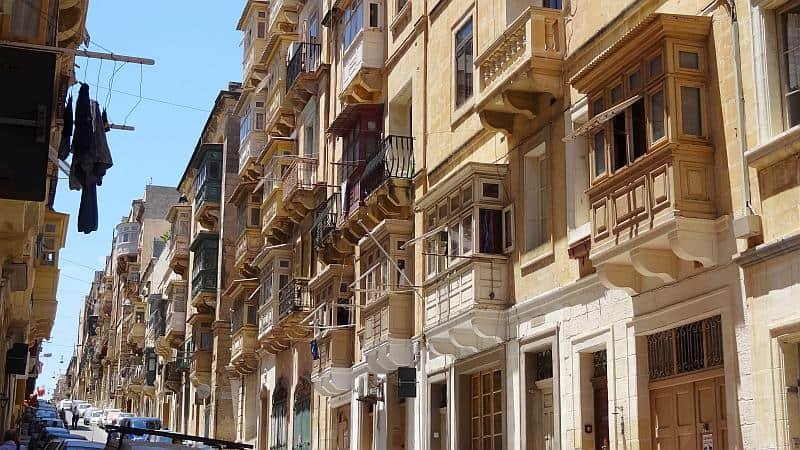 Galleriji in Valletta, Malta