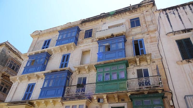 Bunte Galleriji in Valletta, Malta
