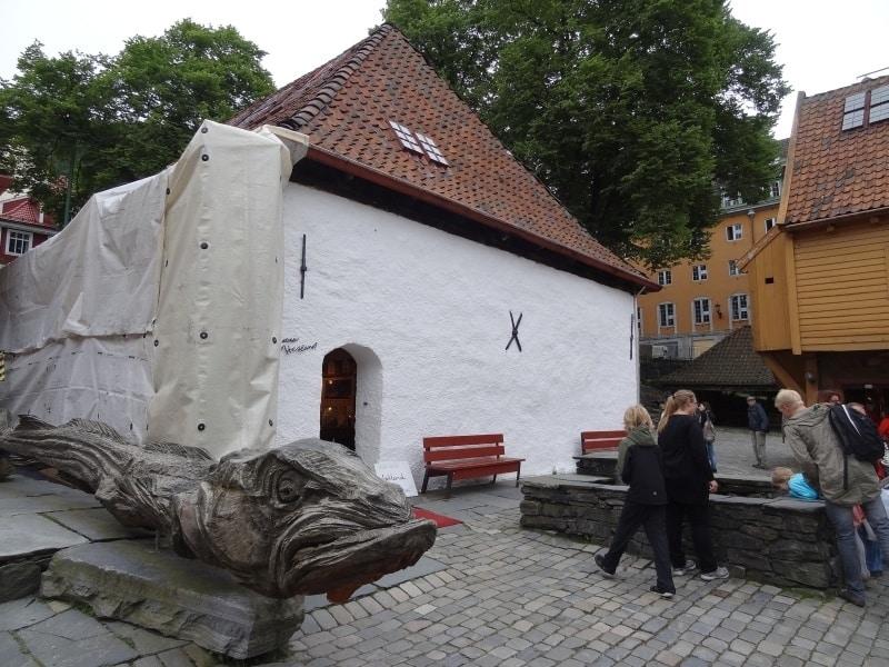 Bergen - Bryggen Schøtstuene