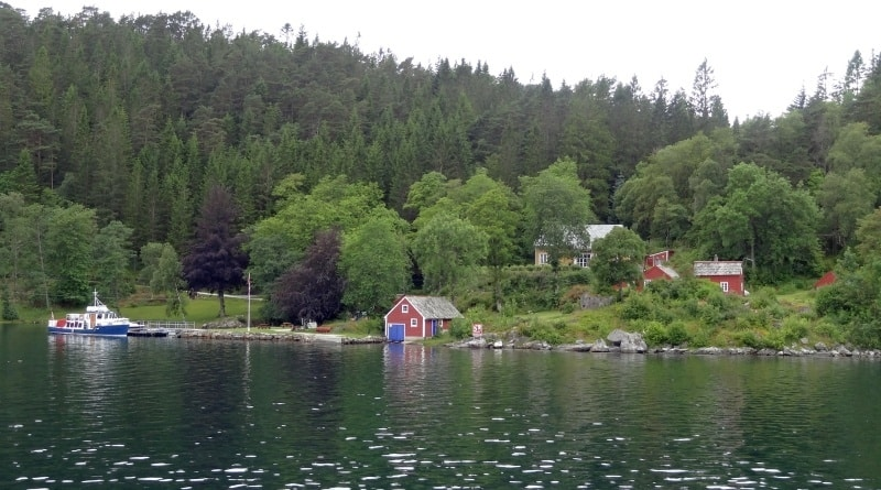 Bergen - Fjorde