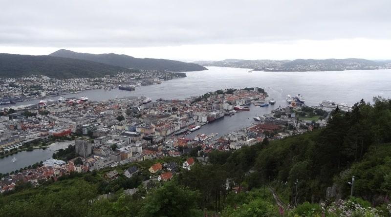 Bergen - Fløyen