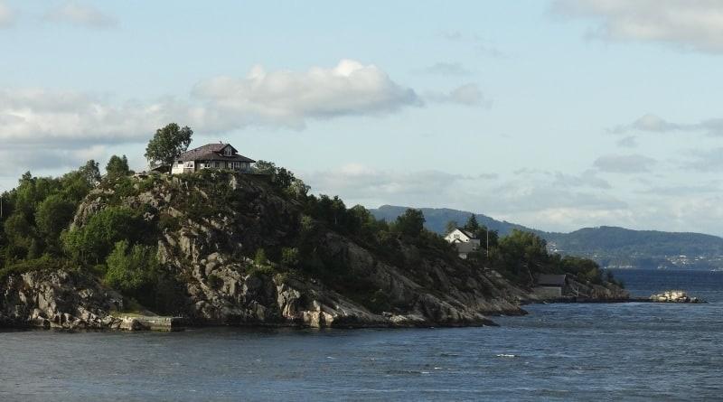 Bergen - Hafenausfahrt