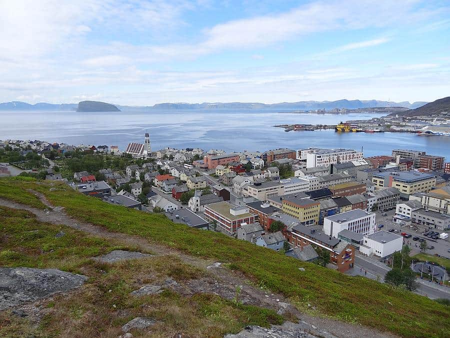 Hammerfest - Blick vom Salen