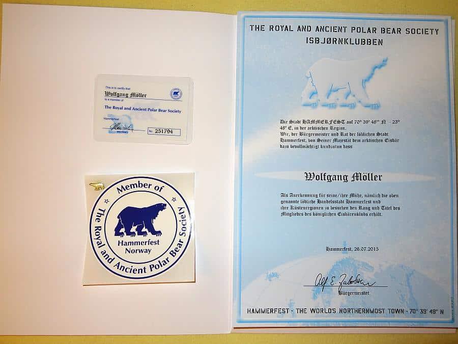 Eisbärenclub - Mitgliedschaft