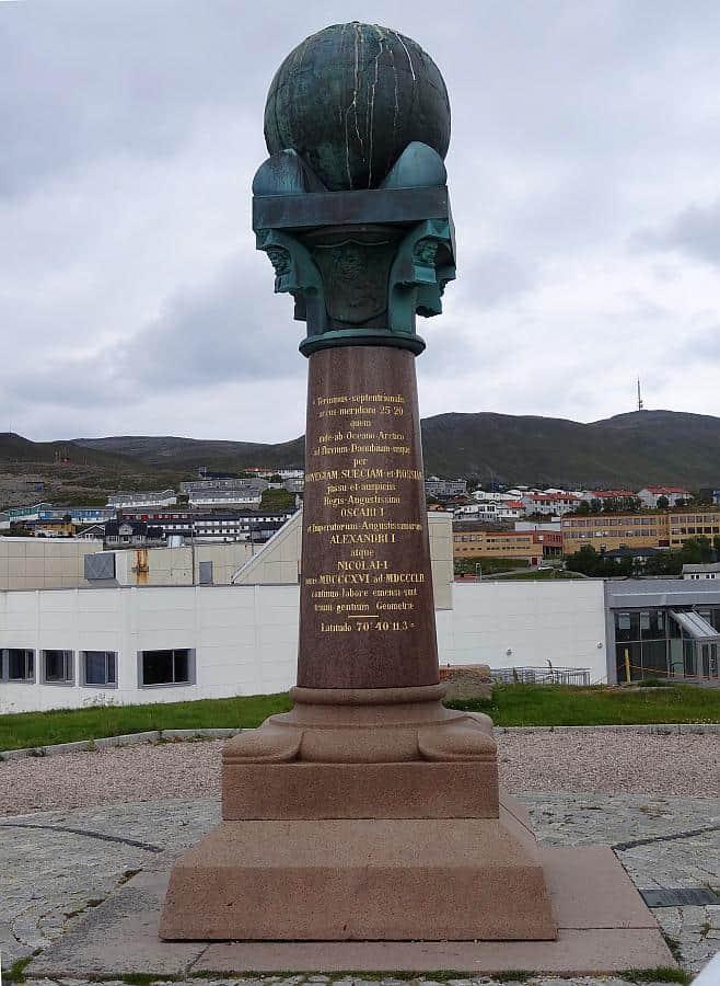 Hammerfest - Meridiansäule