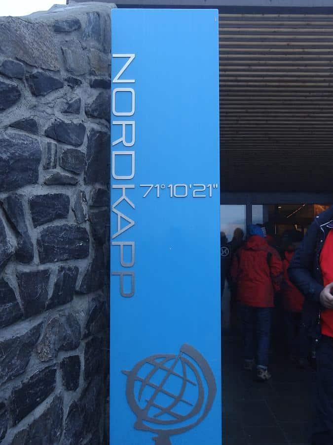 Nordkaphalle - Eingang