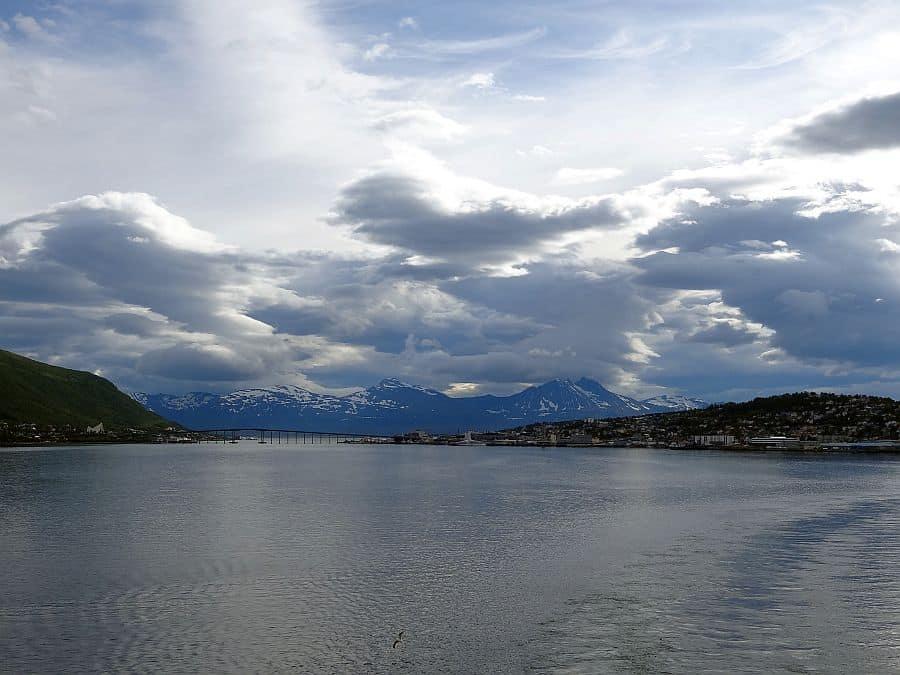 Tromsø - Hafenausfahrt