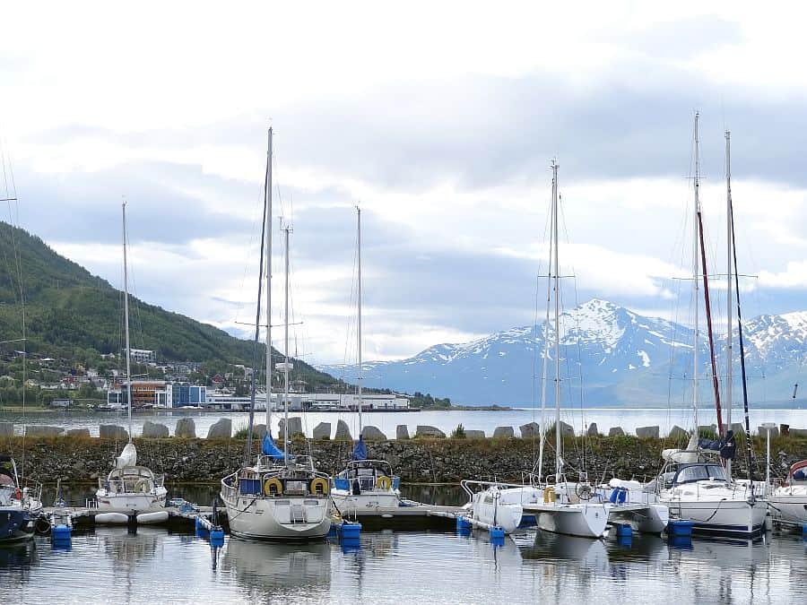Tromsø - Polaria Aussicht